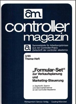 Controller Magazin Ausgabe 03/1985 | Controller Magazin