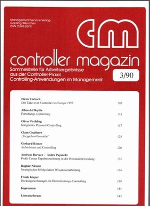 Controller Magazin Ausgabe 03/1990 | Controller Magazin