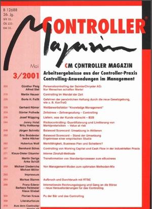 Controller Magazin Ausgabe3/2001 | Controller Magazin