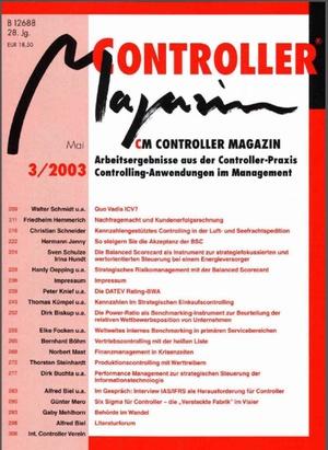 Controller Magazin Ausgabe 3/2003 | Controller Magazin