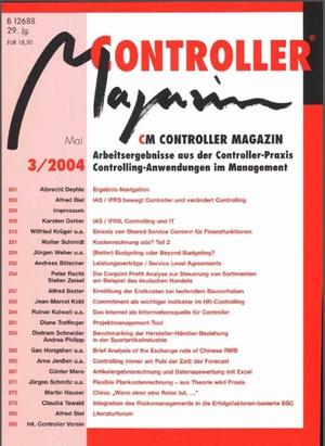 Controller Magazin Ausgabe 3/2004   Controller Magazin