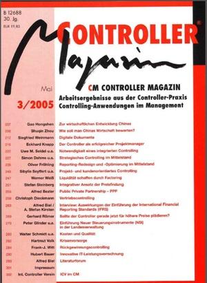 Controller Magazin Ausgabe 3/2005 | Controller Magazin