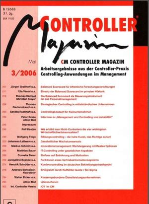 Controller Magazin Ausgabe 3/2006 | Controller Magazin