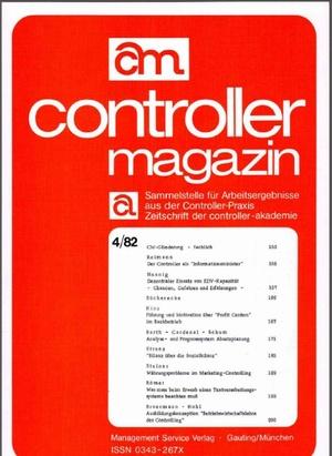 Controller Magazin Ausgabe 4/1982 | Controller Magazin
