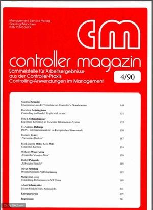 Controller Magazin Ausgabe 04/1990 | Controller Magazin