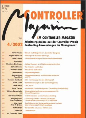 Controller Magazin Ausgabe 4/2002 | Controller Magazin