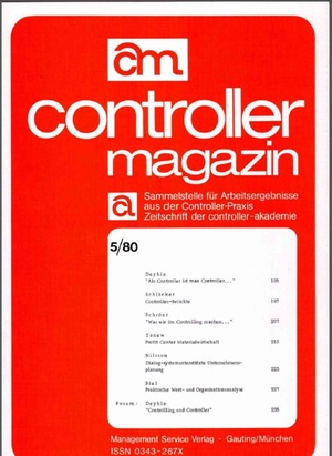Controller Magazin Ausgabe 5/1980   Controller Magazin