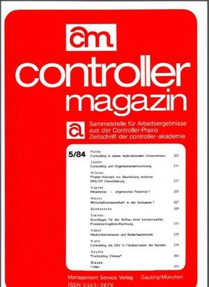 Controller Magazin Ausgabe 05/1984   Controller Magazin