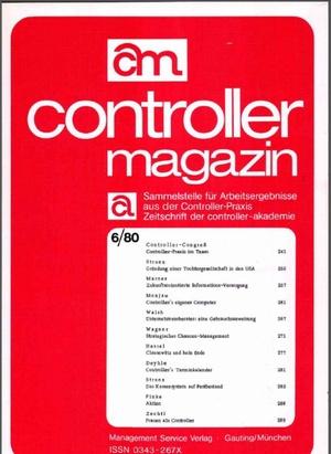 Controller Magazin Ausgabe 6/1980 | Controller Magazin