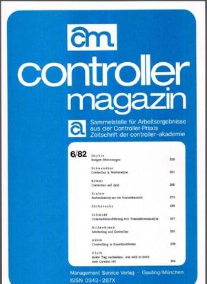 Controller Magazin Ausgabe 06/1982 | Controller Magazin