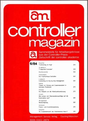 Controller Magazin Ausgabe 06/1984 | Controller Magazin
