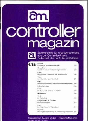 Controller Magazin Ausgabe 6/1986 | Controller Magazin