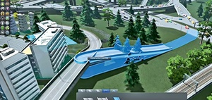 Städtebausimulation: Computerspiel für virtuelle Stadtplaner