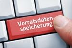 Computertaste mit der Aufschrift Vorratsdaten, Symbolbild Vorratsdatenspeicherung, Deutschland