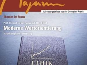 Controller Magazin: Neue Serie zur moderne Wertorientierung
