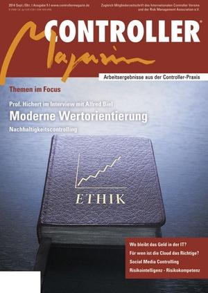 Controller Magazin Ausgabe 5/2014 | Controller Magazin