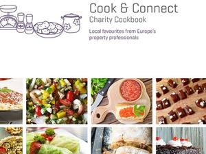 "RICS gibt Charity-Kochbuch ""Cook & Connect"" heraus"