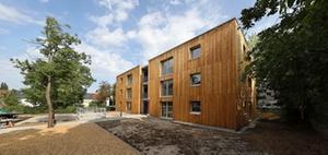 Pilotprojekt: WBL hat Holzwürfel in serieller Bauweise entwickelt