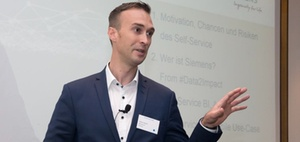 Self-Service Reporting Projekt Beispiel Siemens