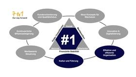 Abbildung 1: Das Optimierungsprogramm im Lufthansa Konzern