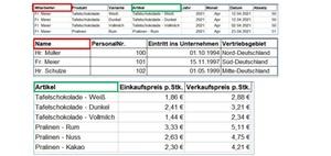 Excel-Tabellenblätter in einer Pivot-Tabelle zusammenführen
