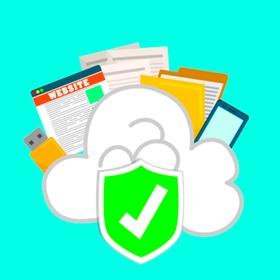 Datenschutz: Laptop, Smartphone in der Cloud