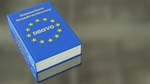 Datenschutzgrundverordnung (DSGVO) Buch Europa-Farben