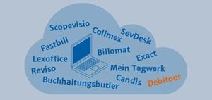 Online-Buchhaltung Mandant und Steuerberater: Debitoor