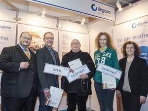 Wohnungswirtschaft: Degewo-Gründerpreis verliehen