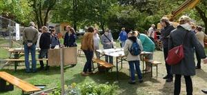 Degewo fördert Gemeinschaftsgarten in der Berliner Gropiusstadt