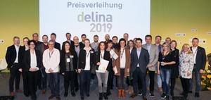 Innovationspreis Delina 2019 in vier Kategorien verliehen