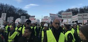 Berlin: Wohnungswirtschaft demonstriert gegen Mietendeckel