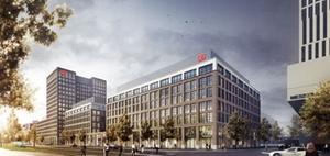 """Warburg-HIH kauft Büroneubauten """"DB Brick"""" und """"DB Tower"""""""