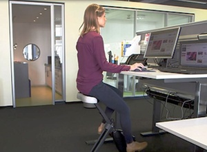 Gesundheitsmanagement: Mit Deskbikes wider den Bewegungsmangel