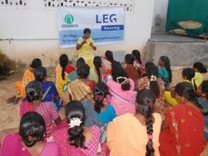 Nachhaltiges Bauen Indien: LEG Immobilien DESWOS