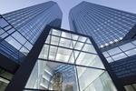 Deutsche Bank_Zentrale Frankfurt_Blick auf die Zwillingstürme