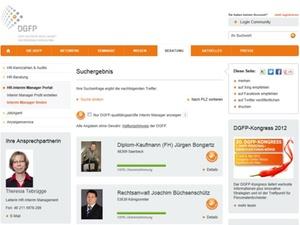 Interimmanager: DGFP startet Suchportal für HR-Bereich