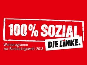 Bundestagswahl 2013: Wahlprogramm DIE LINKE