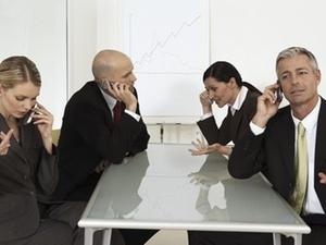 Unternehmenskultur: Business-Etikette: Mobile Geräte nutzen
