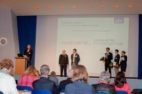 Die Preisübergabe auf der CIB 2013