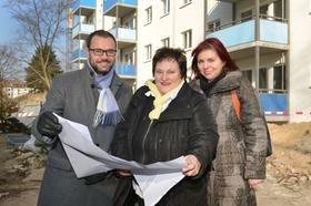Die Projektverantwortlichen für das Zukunftshaus in Berlin