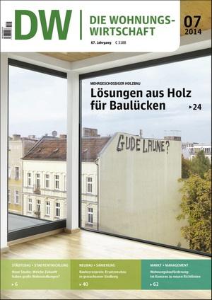 Die Wohnungswirtschaft 07/2014 | Wohnungswirtschaft
