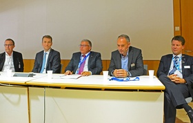 Diskussionsrunde Investitionen in Pflegeimmobilien Expo Real