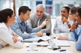 Diversität: Team berät sich