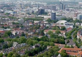 Dortmund Innenstadt von oben