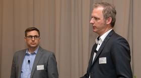 Dr. Michael Zyder und Volker Schrödel