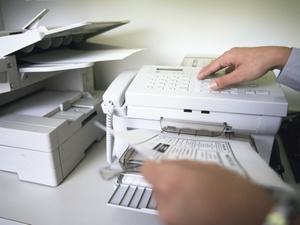 Übermittlung einer Einkommensteuererklärung per Fax