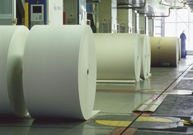 Druckerei, Rollenoffsetpapier