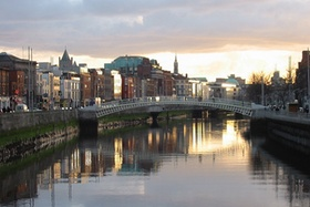 Dublin, Half Penny Bridge