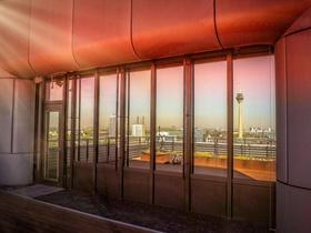 Düsseldorf Ausblick aus Bürohaus